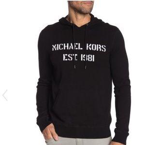 Michael Kors | Logo Sweater Hoodie XL New